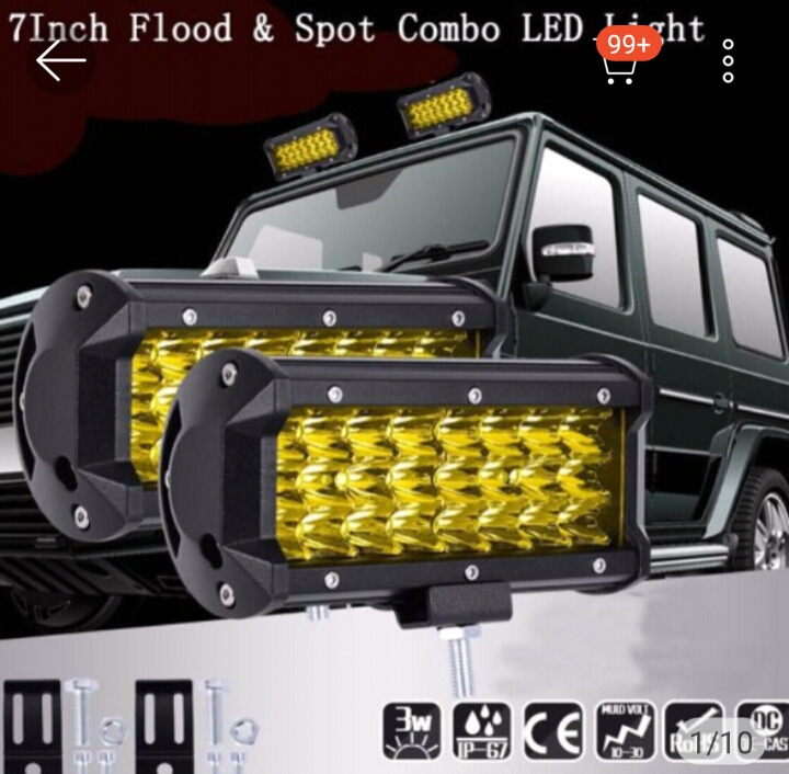 Hot item 144W LED Day Light Bar Flood Spot Work Ford Driving Fog Lamp