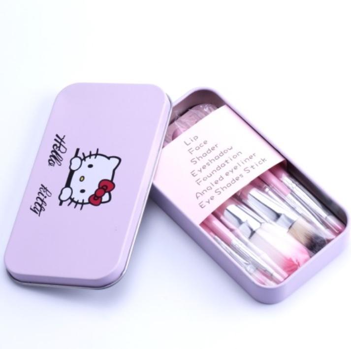 08011438b HOT makeup brushes Hello Kitty brush kit Sets + WHOLESALE PRICE. ‹ ›