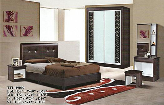 HOT SALE QUEEN SIZE BEDROOM SET MODEL -19009
