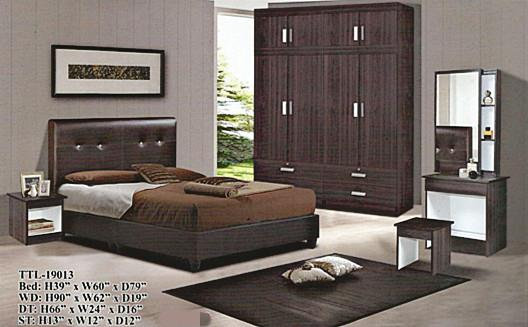 HOT SALE QUEEN SIZE BEDROOM SET MODEL -19013