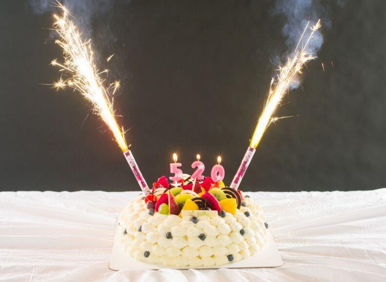 Hot Sales Clubing Event Birthday Cake Bottle Sparklers Candles
