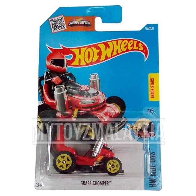 Hot Wheels 2016 HW Ride-Ons Grass Chomper (red)
