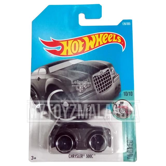 Hot Wheels 2017 Tooned Chrysler 300C (black)