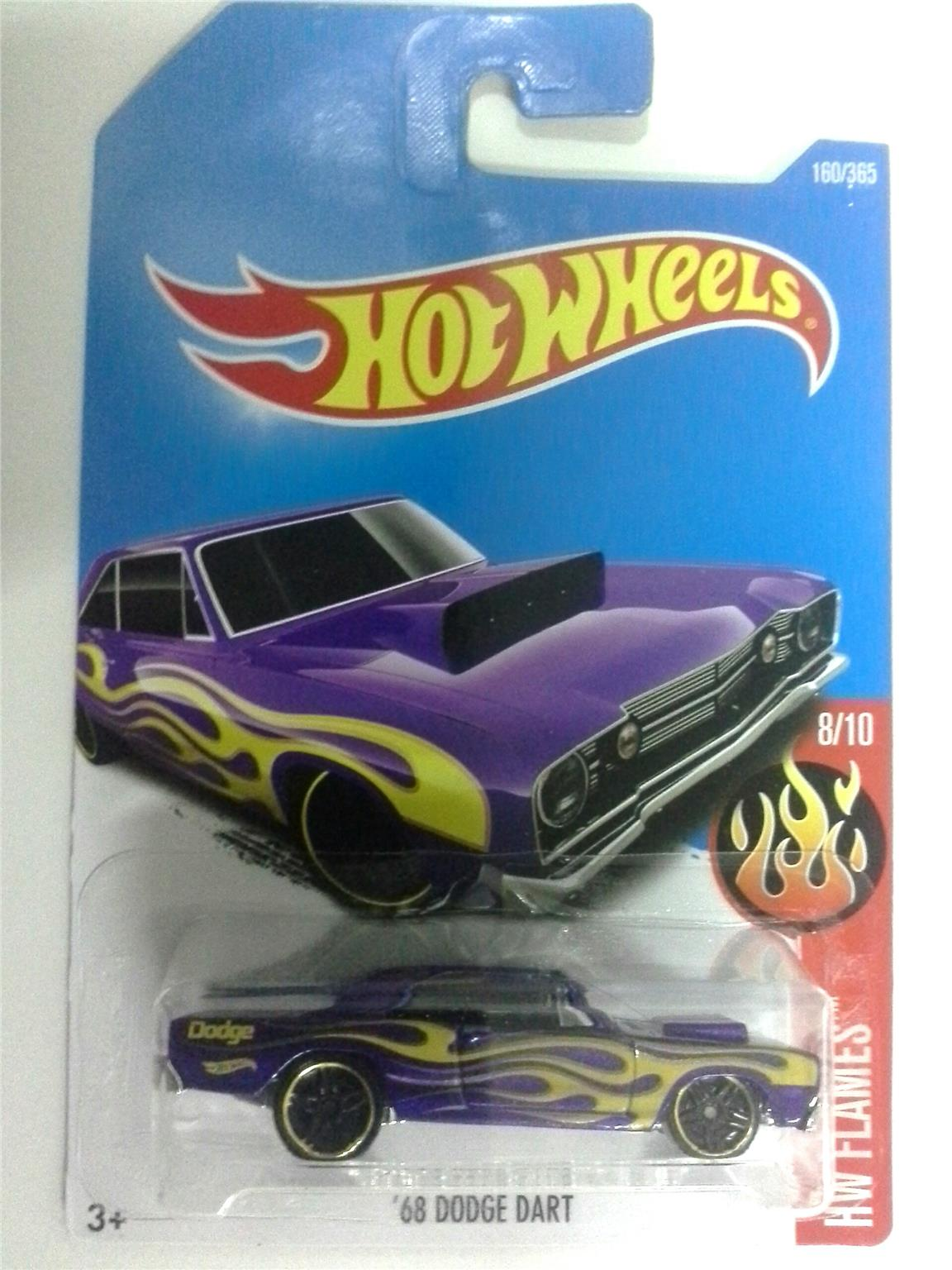 Hot Wheels 68 DODGE DART PURPLE