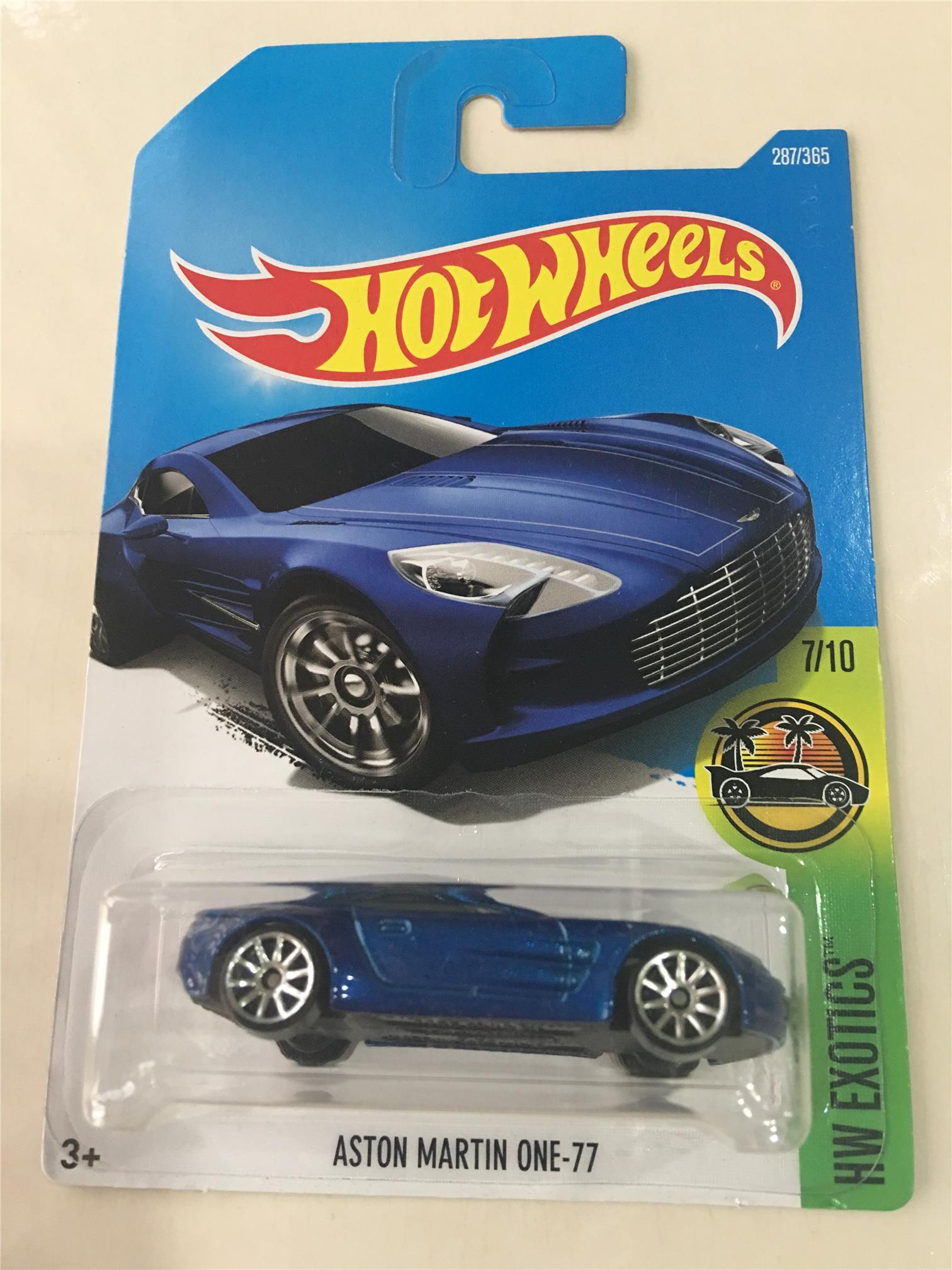 HOT WHEELS ASTON MARTIN ONE 77