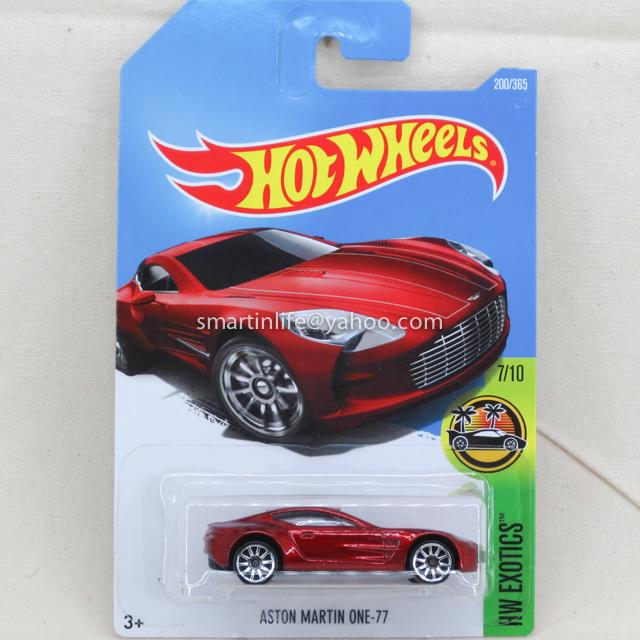 Hot Wheels Aston Martin One 77 (Red) #200 7/10
