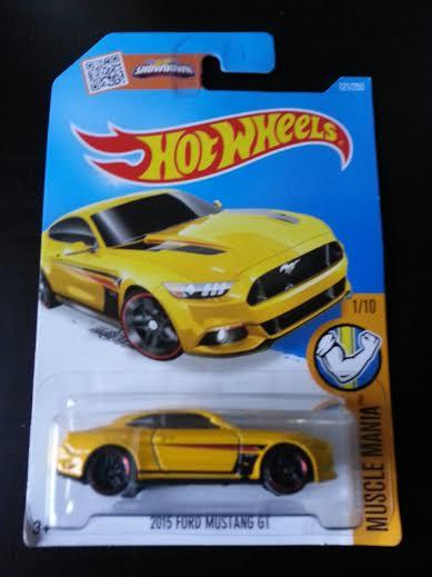 Hot Wheelscast  Ford Mustang Gt Yellow New