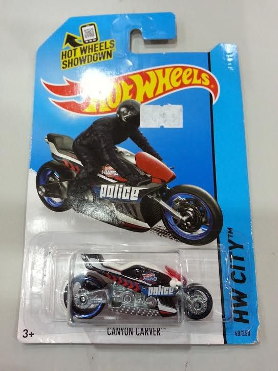 Hot Wheels Diecast - Canyon Carver Bike NEW