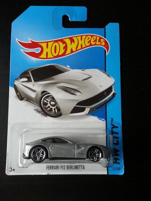 hot wheels diecast - ferrari f12 ber (end 4/14/2020 3:15 pm)