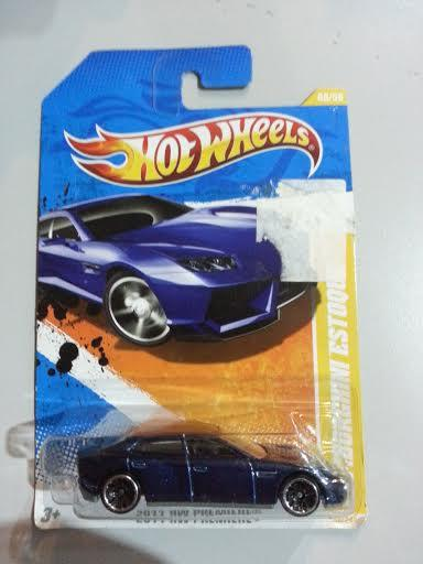 Exceptional Hot Wheels Diecast   Lamborghini Estoque (Blue) NEW. U2039 U203a