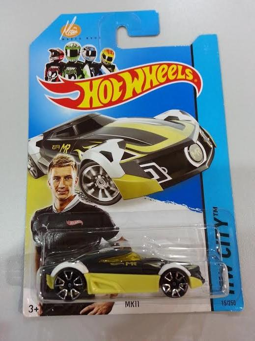 Hot Wheels Diecast - Marco Reus Special Edition MRII Sport Car NEW