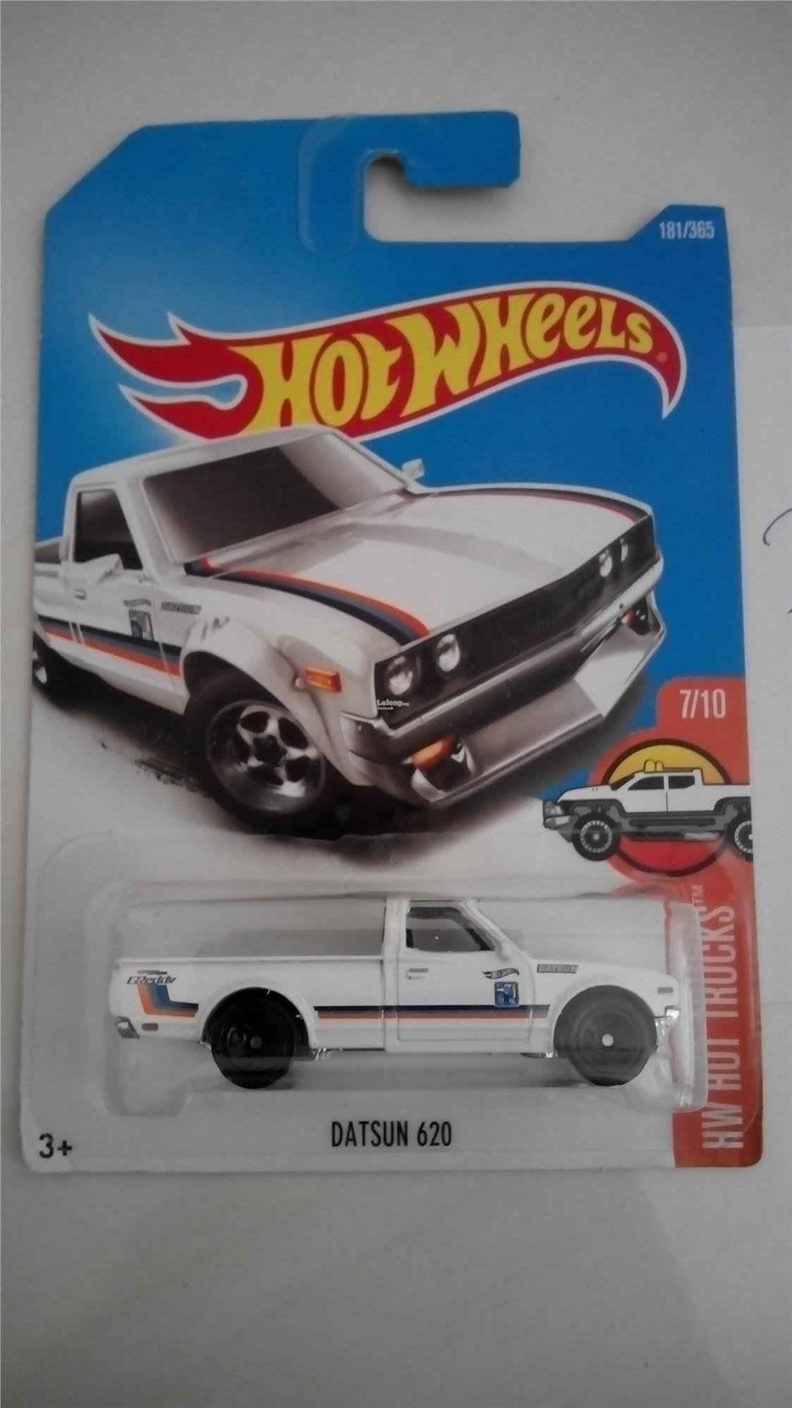 Hot Wheels Hw Datsun 620 White End 5 14 2019 4 15 Pm