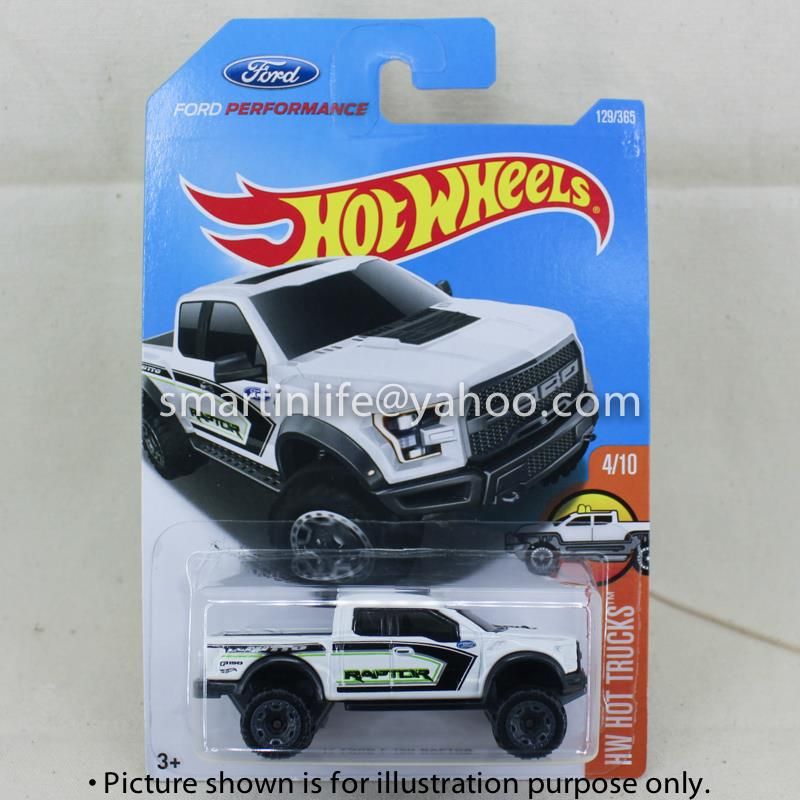Hot wheels hw hot trucks 2017 ford f end 232018 115 am hot wheels hw hot trucks 2017 ford f 150 raptor white 4 voltagebd Gallery