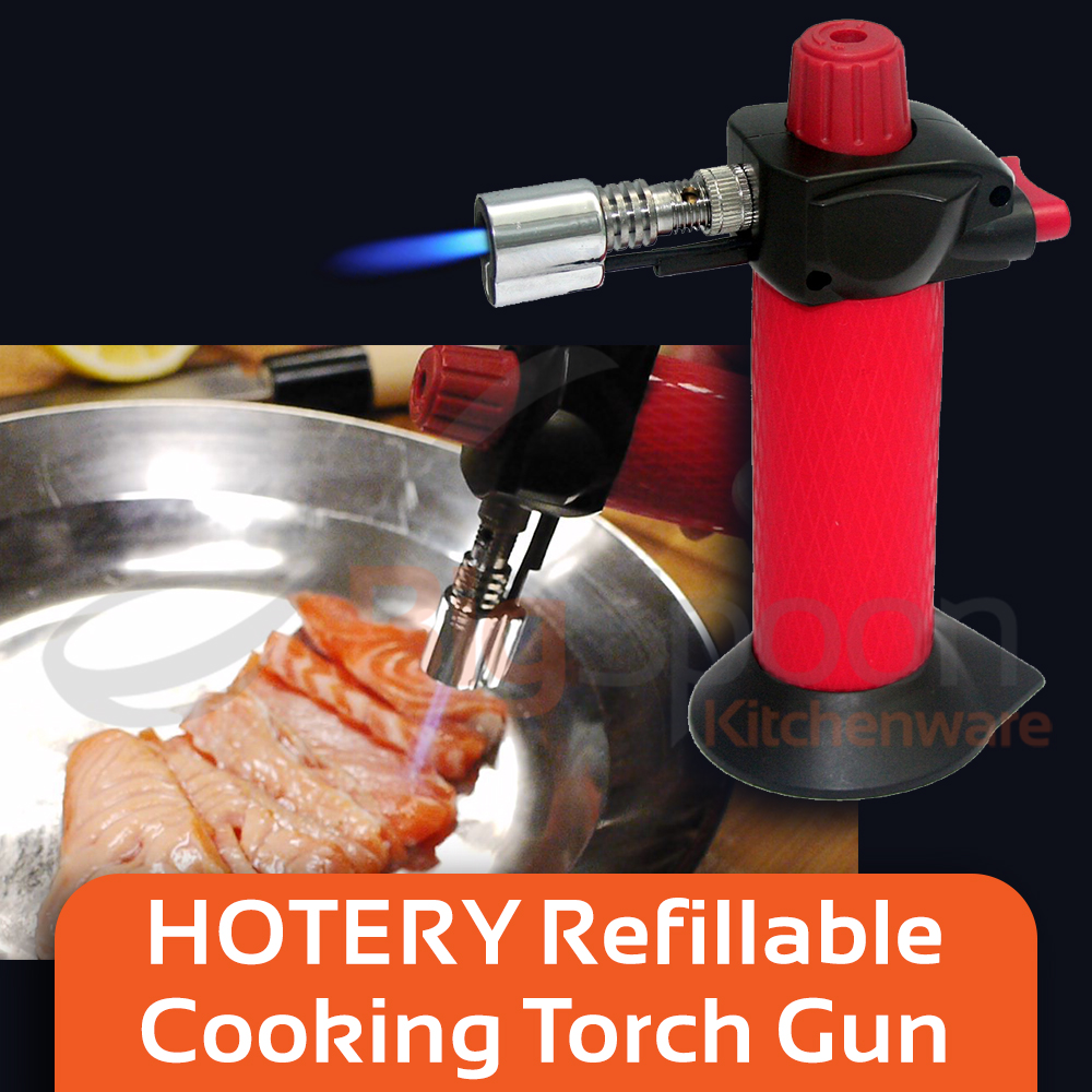 HOTERY Mini Gas Torch Lighter Fire Torch Gun Blow Torch Lighter