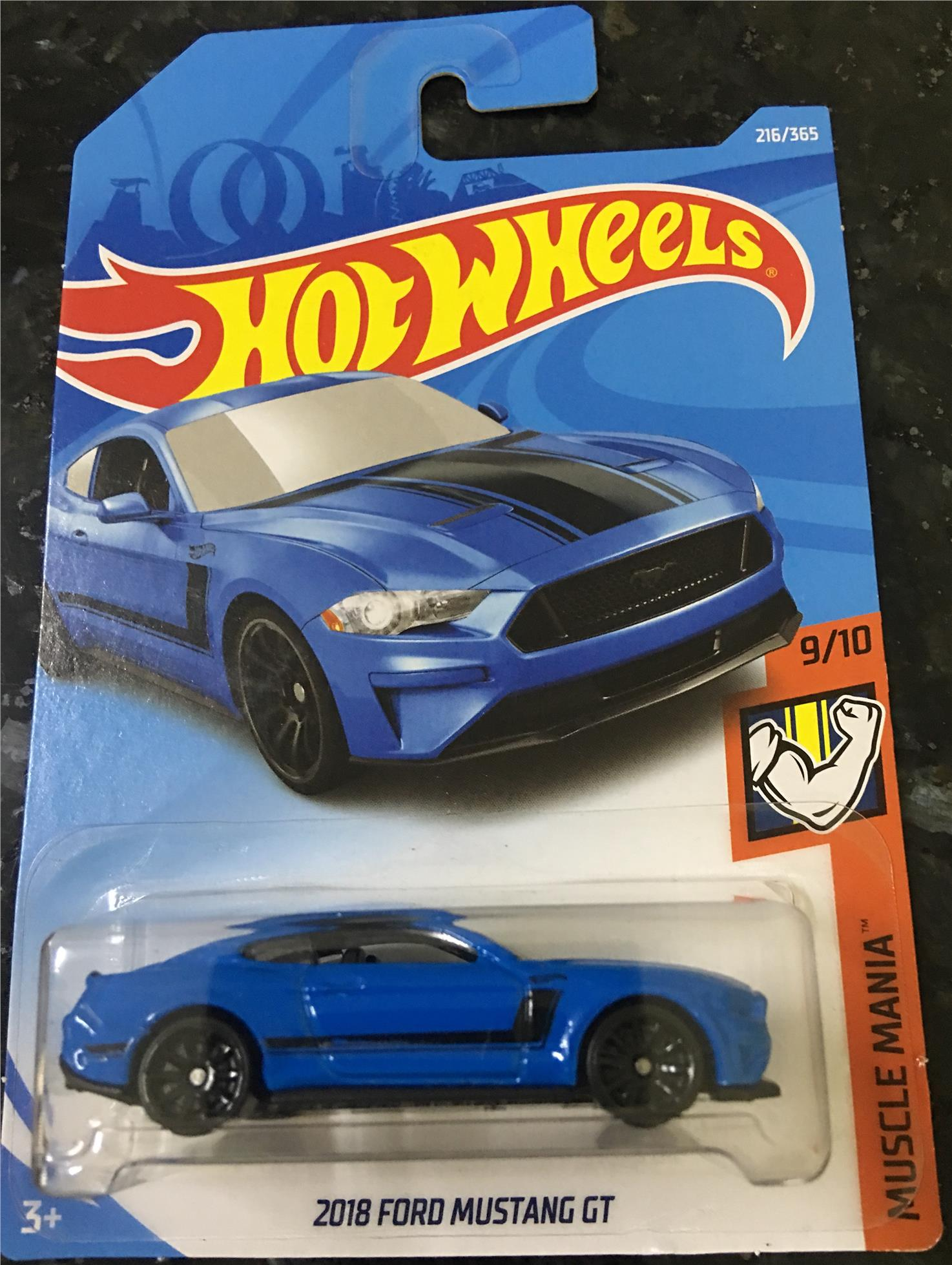 Ford Mustang Gt Hot Wheels