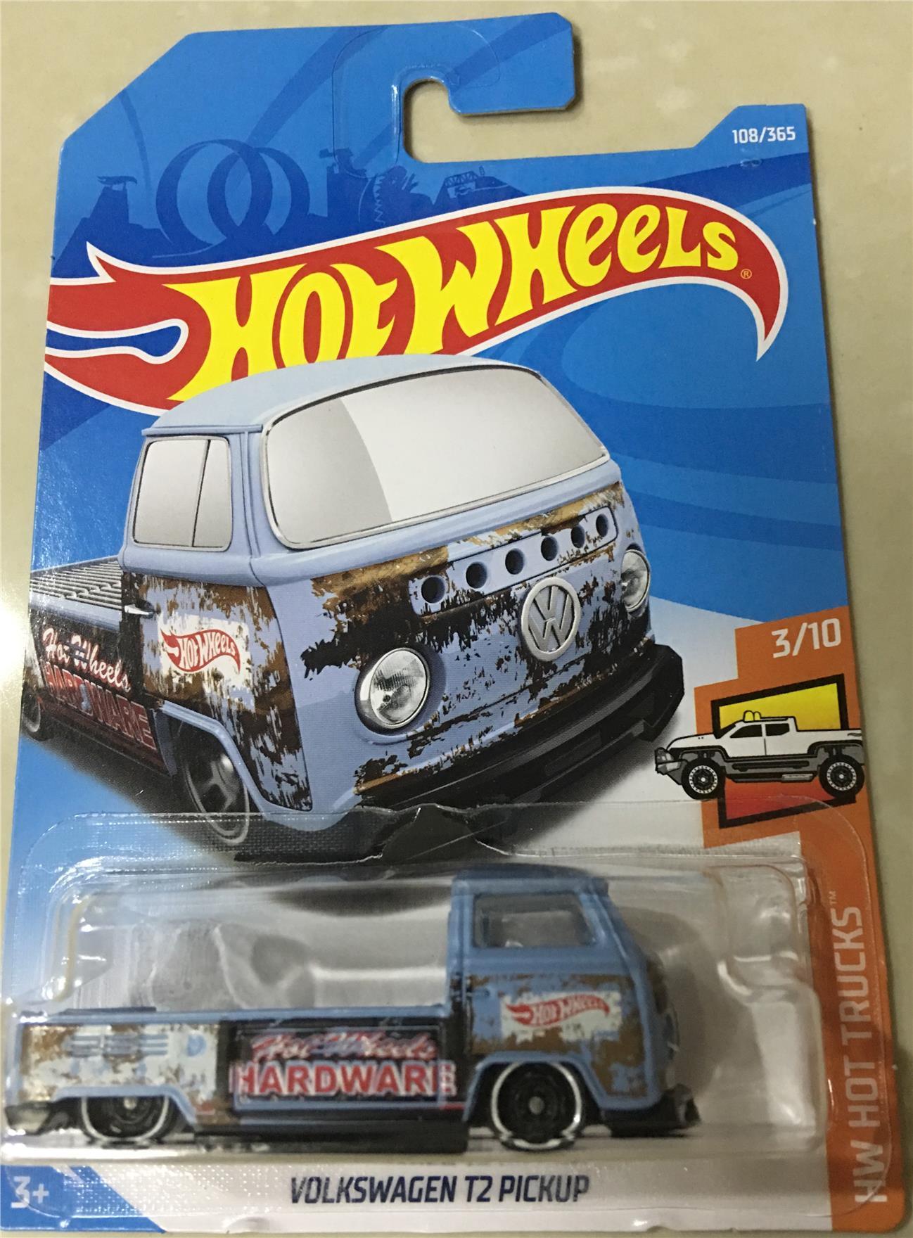 Hot Wheels volkswagen t2 pickup 2019 nuevo