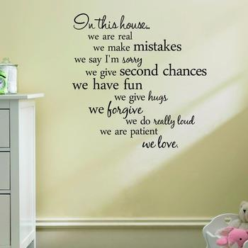 In this house quote wall decal Quotes And Saying Decals Wallpaper. u2039 u203a  sc 1 st  Lelong.my & In this house quote wall decal Quotes (end 8/2/2019 3:15 AM)