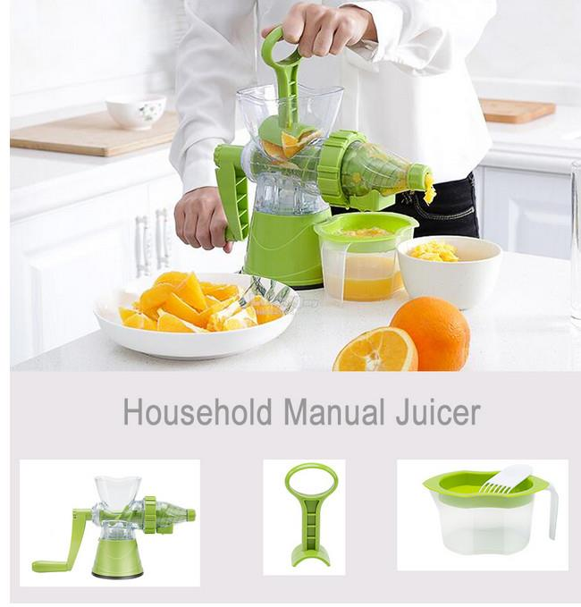 Household Manual Juicer wheatgrass /fruit /vegetables /Juice extractor