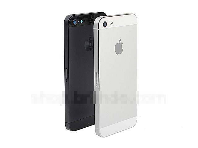 NEW HOUSING Metal Back Battery Cover Apple iPhone 5 ~BLACK / WHITE