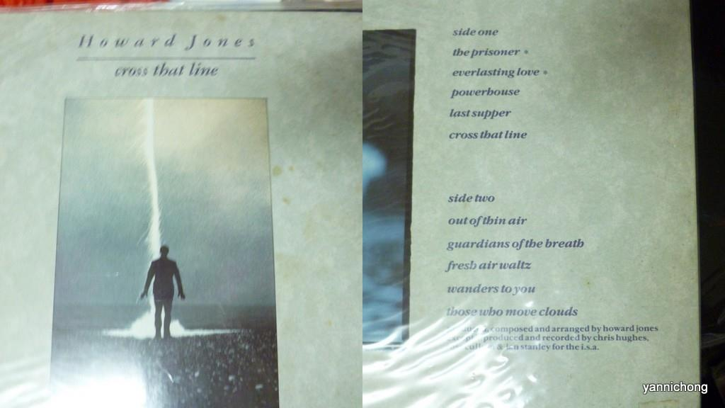 HOWARD  JONES VINYL RECORD LP