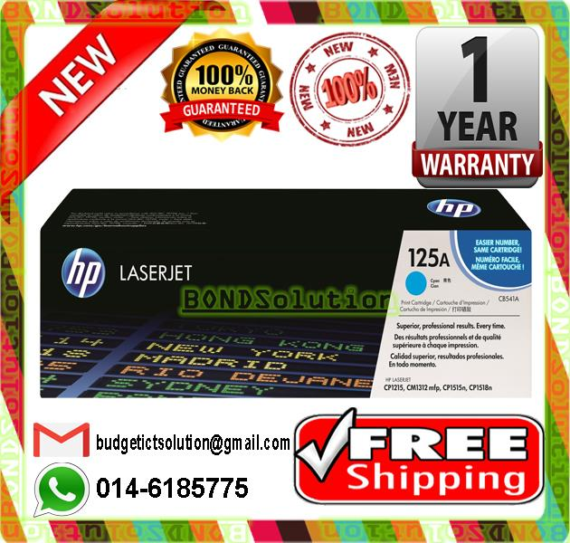 CB541A Cyan Toner Cartridge for HP LaserJet CP1518 1215 FREE SHIPPING!