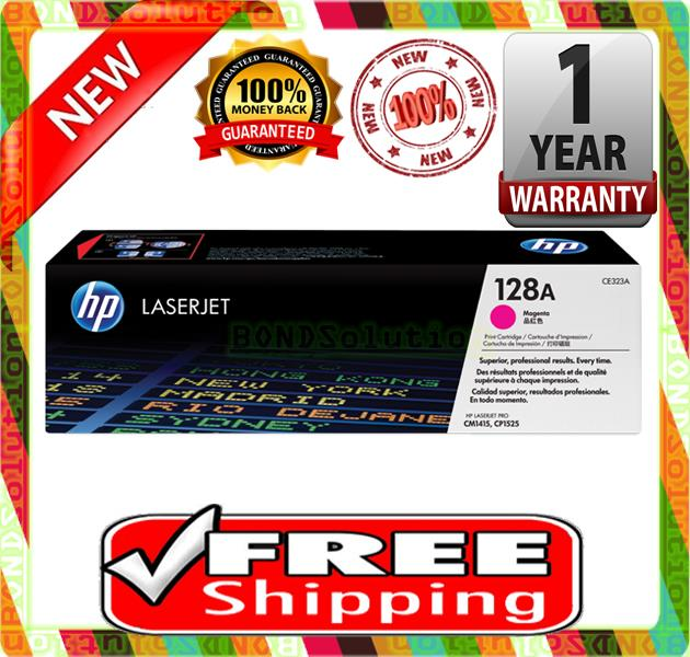 NEW HP 128A / CE323A MAGENTA Toner 1415 1520 1525 (FREE SHIPPING)