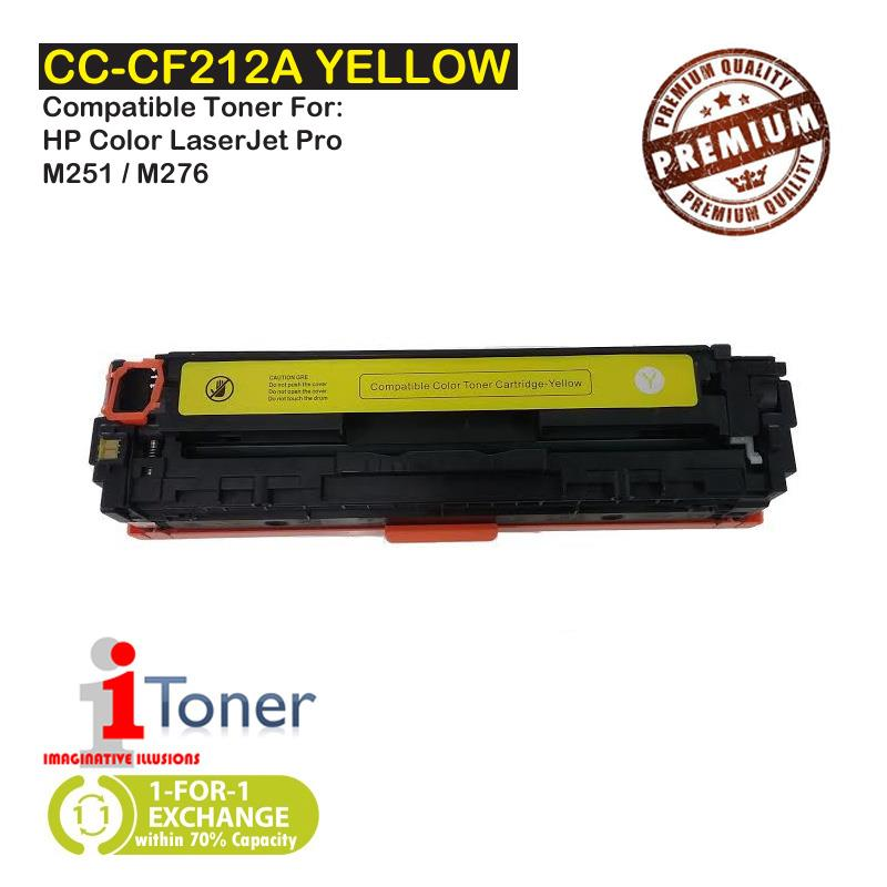 HP 131A CF212A Yellow (Single Unit)