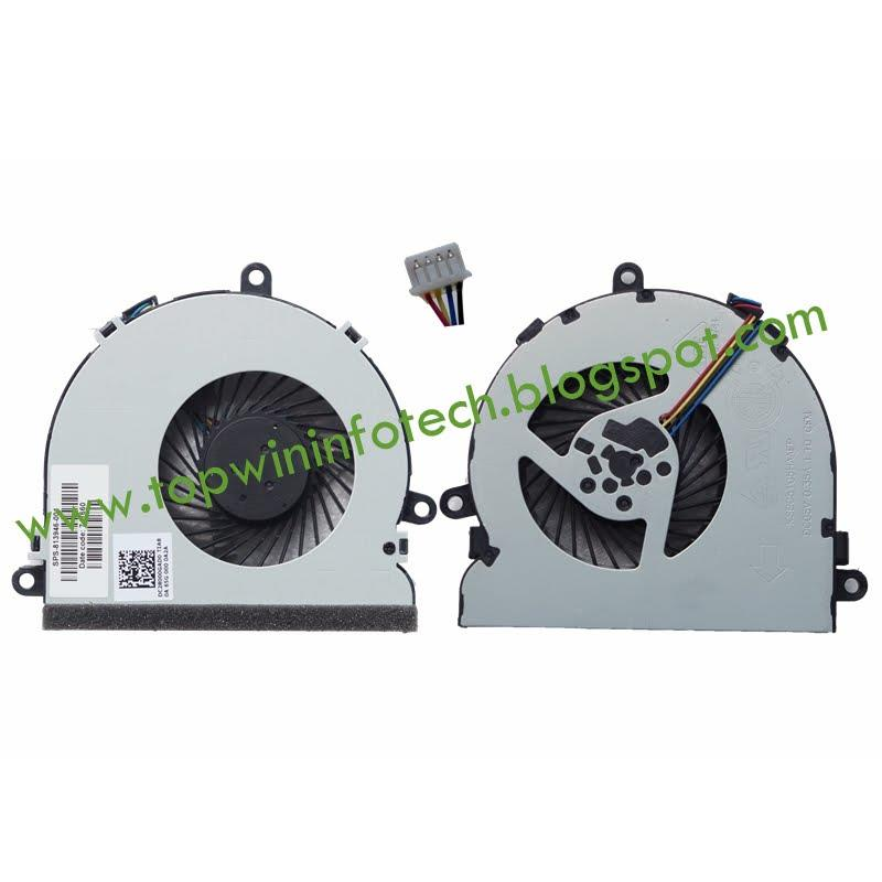 HP 15-AC067TX AC622TX 121TX FGKB 813946-001 COOLING FAN