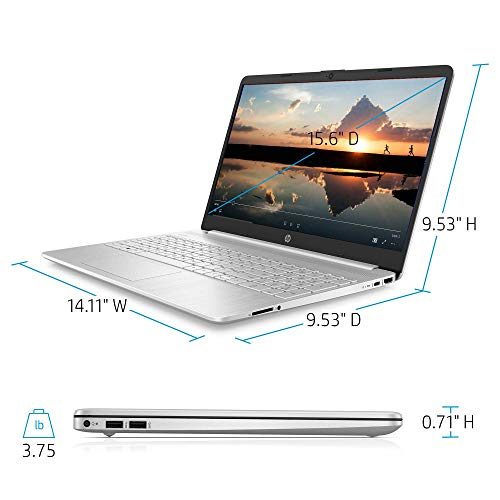 ..// HP 15-Inch FHD Laptop, 10th Gen Intel Core i5-1035G1, 8 GB RAM, 256 GB So