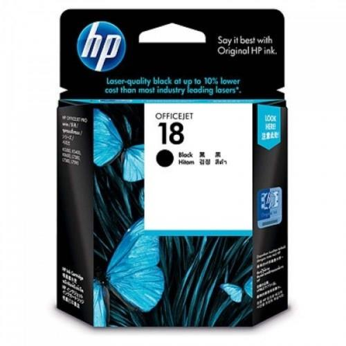 HP 18 Black Officejet Ink Cartridge (C4936A)