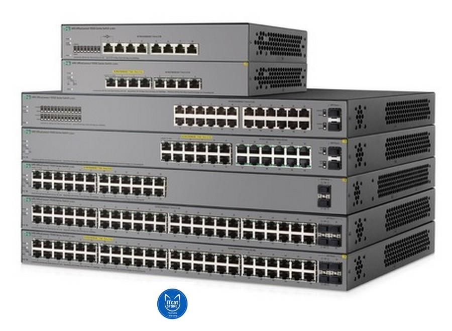 NEW HP S G SFP PPoEW SWIT End PM - Switch 12 ports