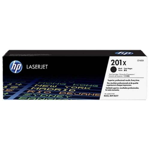 HP 201X Black Original LaserJet Toner Cartridge (CF400X)