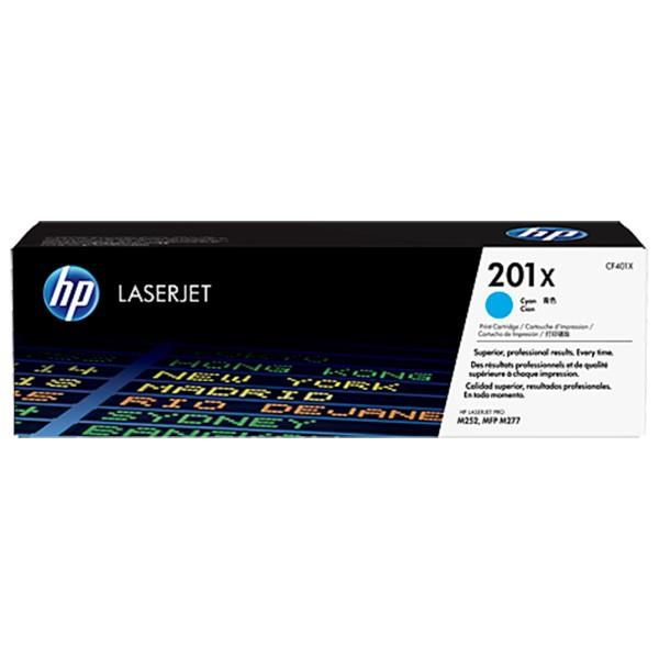 HP 201X Cyan Original LaserJet Toner Cartridge (CF401X)