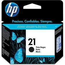 HP 21 BLACK Ink Cartridge (Genuine) C9351AA HP21