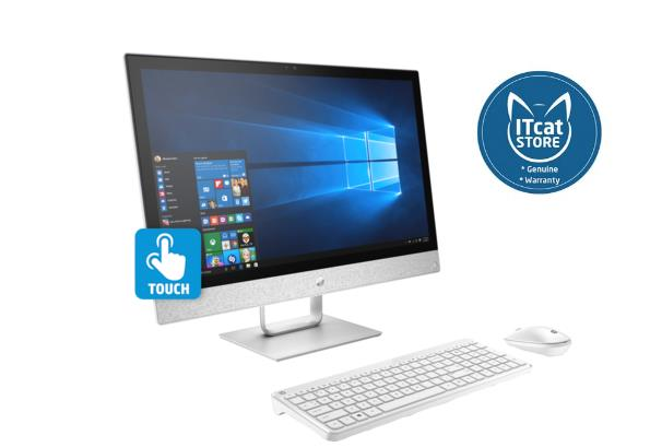 NEW HP 24' PAVILLION AIO TOUCH 24-R131D /i3-8100T/4GB/1TB-3YW(4EA51AA)