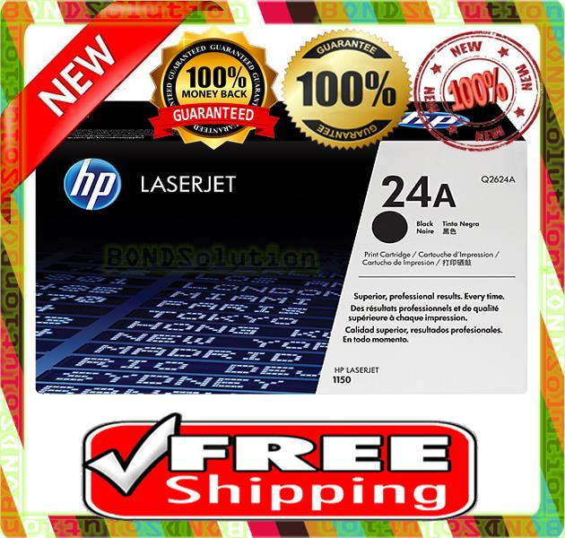 NEW HP 24A / Q2624A Toner 1150 (FREE SHIPPING)