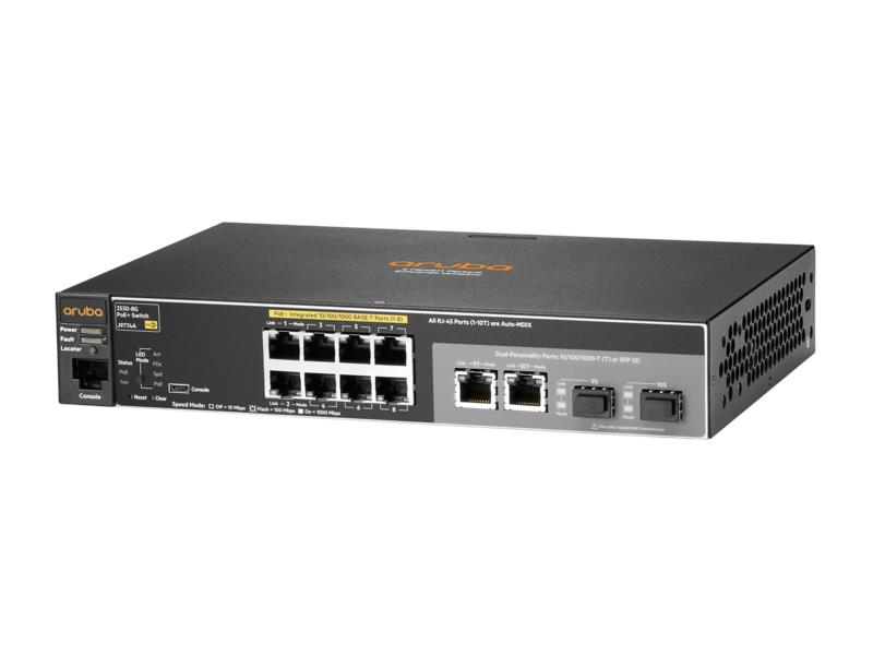 HP 2530-8G-PoE+ Switch (J9774A)