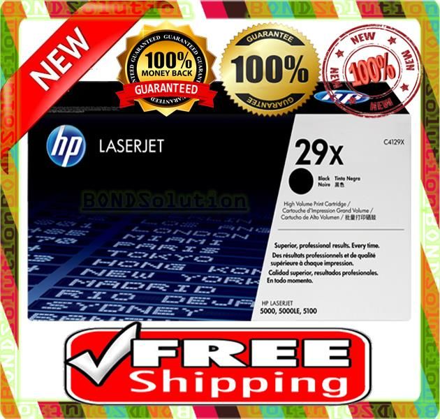 NEW HP 29X / C4129X Toner 5000 5100 (FREE SHIPPING)