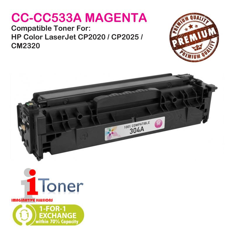 HP 304A CC533A Magenta (Single Unit)