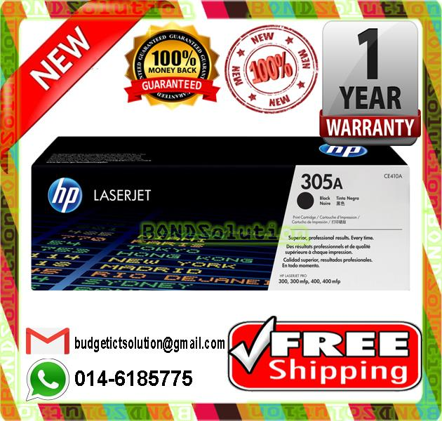 NEW HP 305A / CE410A BLACK Toner M351 M375 M451 M475 (FREE SHIPPING)
