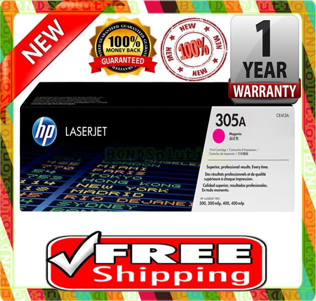 NEW HP 305A / CE413A MAGENTA Toner M351 M375 M451 M475 (FREE SHIPPING)