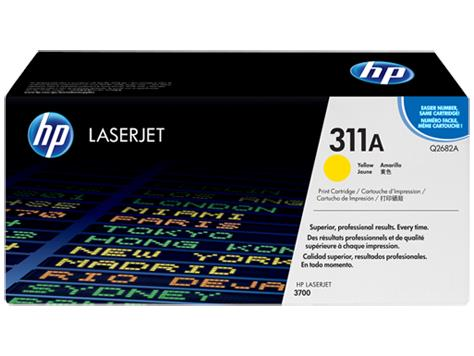 HP 311A Yellow Original LaserJet Toner Cartridge(Q2682A)