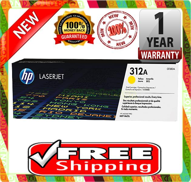NEW HP 312A / CF382A YELLOW Toner (FREE SHIPPING)