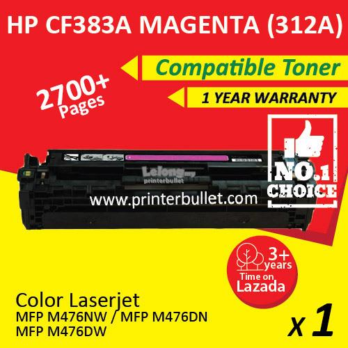 HP 312A CF383A Magenta High Quality Compatible Tober Cartridge