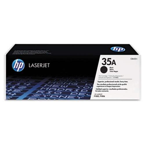 HP 35A Black LaserJet Toner Cartridge (CB435A)