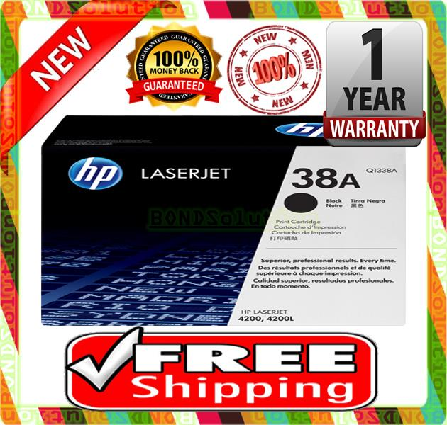 NEW HP 38A / Q1338A Toner 4200 n/dtn/dtns/dtnsL (FREE SHIPPING)