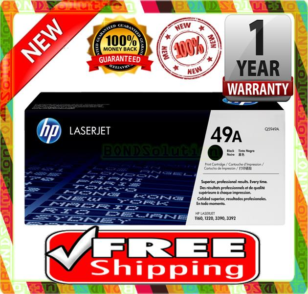 NEW HP 49A / Q5949A Toner 1160 1320 3390 3392 (FREE SHIPPING)