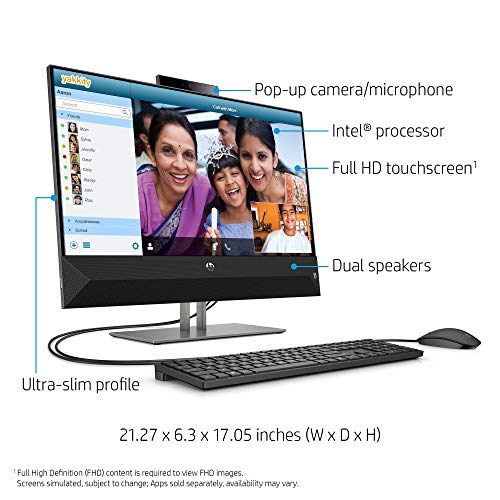 ..// HP 4NN56AA#ABA Pavilion 24-Inch All-in-One Computer, Intel Core i5-9400T,