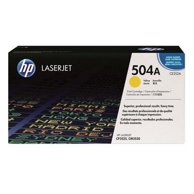 HP 504A - CE252A (Yellow) CP3520 CP3525 CM3530