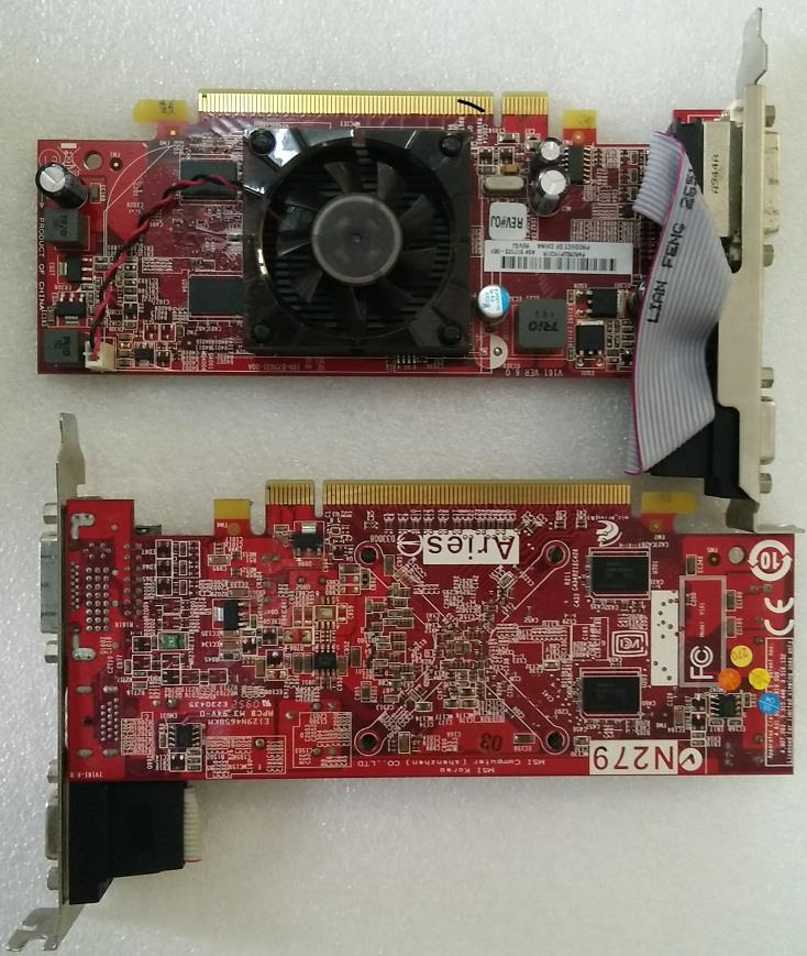 HP 517123-001 ATI Radeon HD 4350 512MB DDR2 VGA/DVI/HDMI PCIe x16